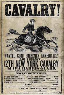 Old West Recruitment Posters