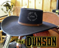 The Dunson custom movie hat.
