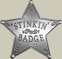 Stinking Badge