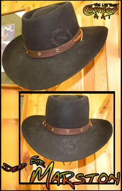 Red Dead Redemption hat.