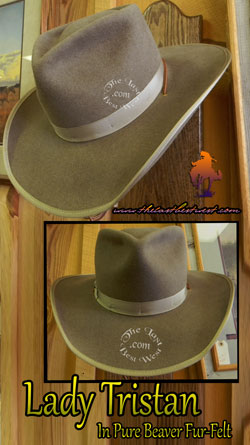 Ladies Custom Cowboy Hat.
