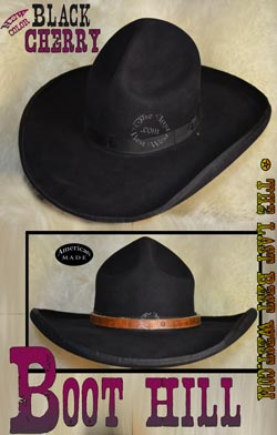 Boot Hill hand made western hat.