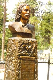 Wild Bill Hickock Memorial - Deadwood South Dakota.